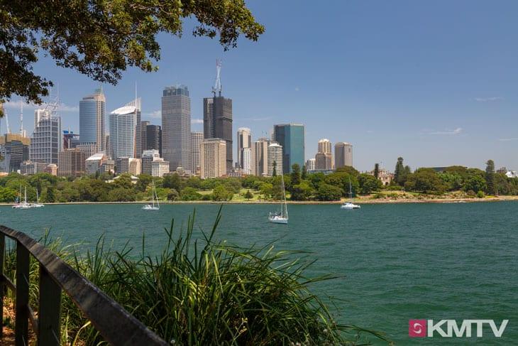 Royal Botanic Garden und Circular Quay - Sydney Kitesurfen und Kitereisen