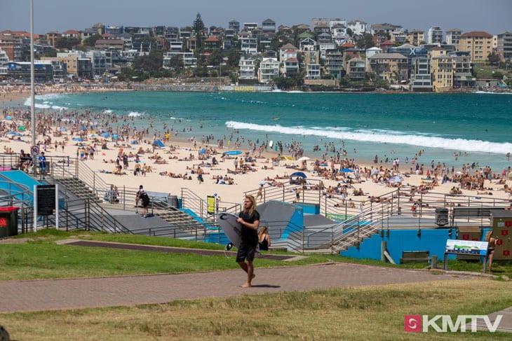 Bondi Beach - Sydney Kitesurfen und Kitereisen