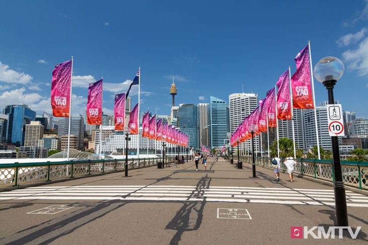 Darling Harbour - Sydney Kitesurfen und Kitereisen
