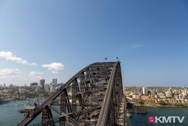 Pylon Lookout Harbour Bridge - Sydney Kitesurfen und Kitereisen