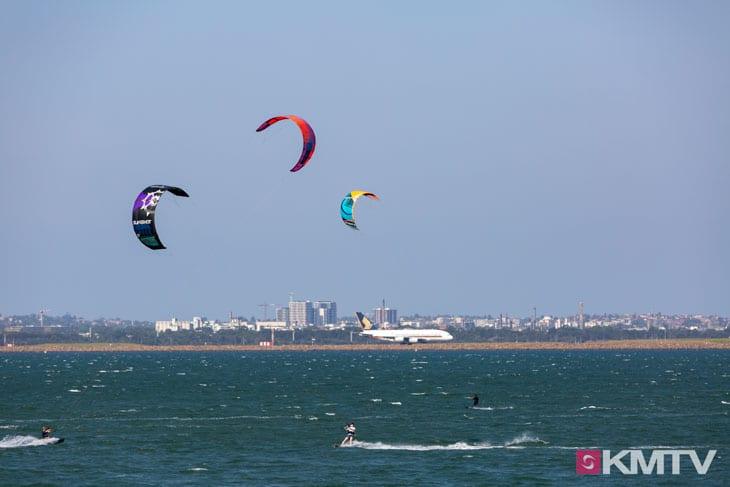 Kitespot Brighton Le Sands - Sydney Kitesurfen und Kitereisen