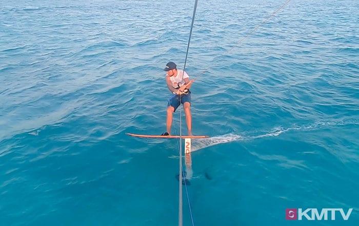 #14 Foilhöhe steuern - Foilen lernen beim Kiten