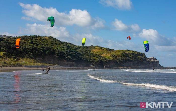 Auckland Kitesurfen - Kitereisen auf die Nordinsel Neuseelands by Kitereisen.TV