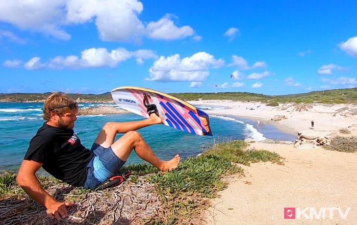 Board switchen - Foilen lernen beim Kiten