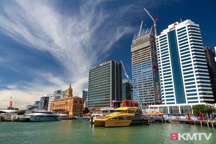 City - Auckland Kitereisen & Kitesurfen