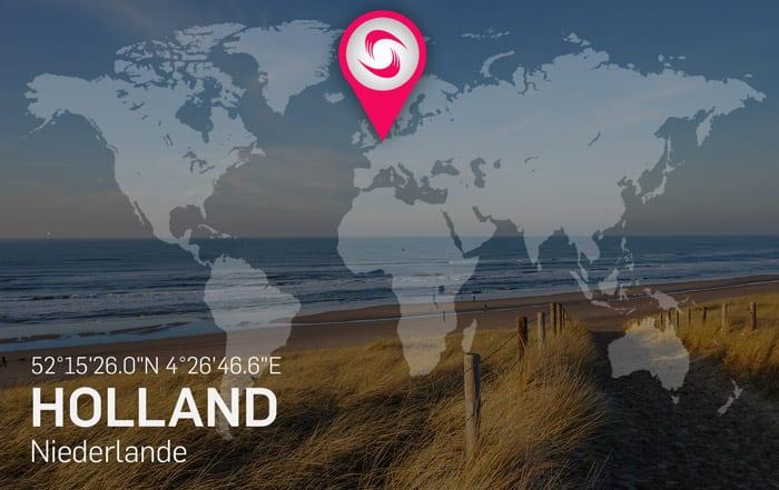 Holland Kitespots – Beste Reisezeit zum Kitesurfen an der Nordsee