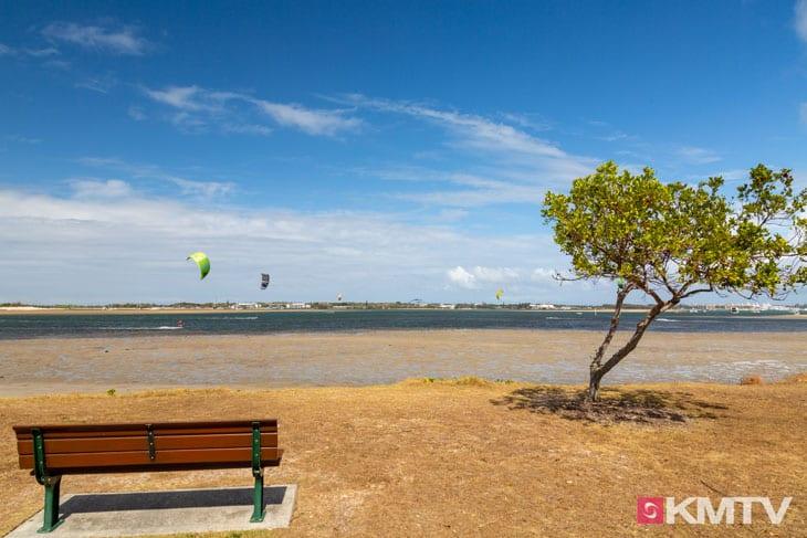 Kitespot Loders Creek - Surfers Paradise Kitereisen & Kitesurfen