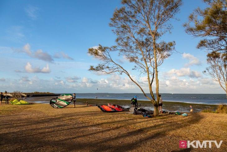 Kitespot Manly Beach - Brisbane Kitereisen & Kitesurfen