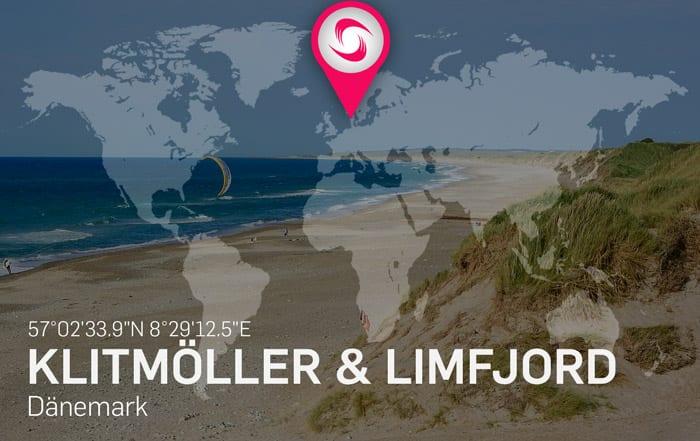 Klitmöller & Limfjord Kitespots – Beste Reisezeit zum Kitesurfen in Dänemark