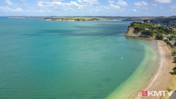 Kitespot Arkles Beach - Auckland Kitereisen & Kitesurfen