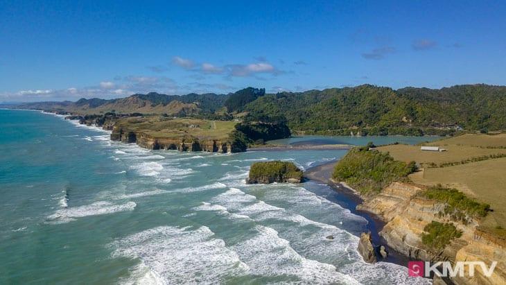 Küste - Auckland Kitereisen & Kitesurfen
