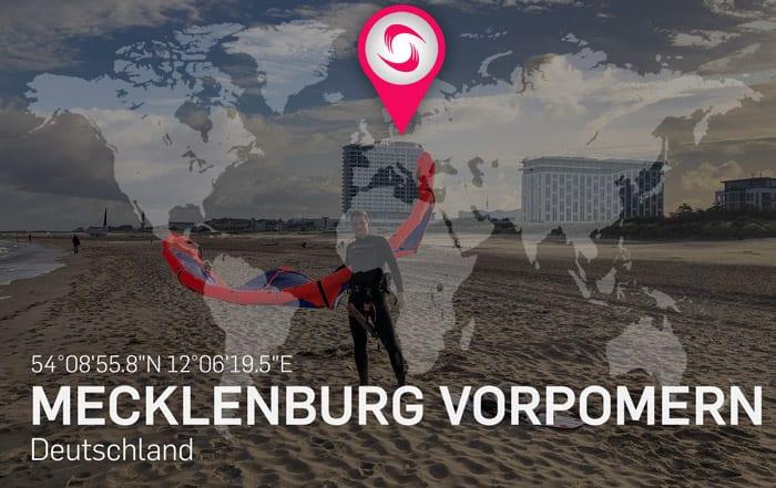 Mecklenburg Vorpommern Kitespots – Beste Reisezeit zum Kitesurfen an der Nordsee