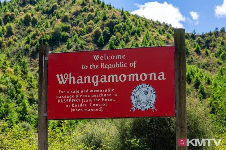Republik Whangamomona - Auckland Kitereisen & Kitesurfen