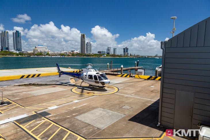 Helikopter - Surfers Paradise Kitereisen & Kitesurfen