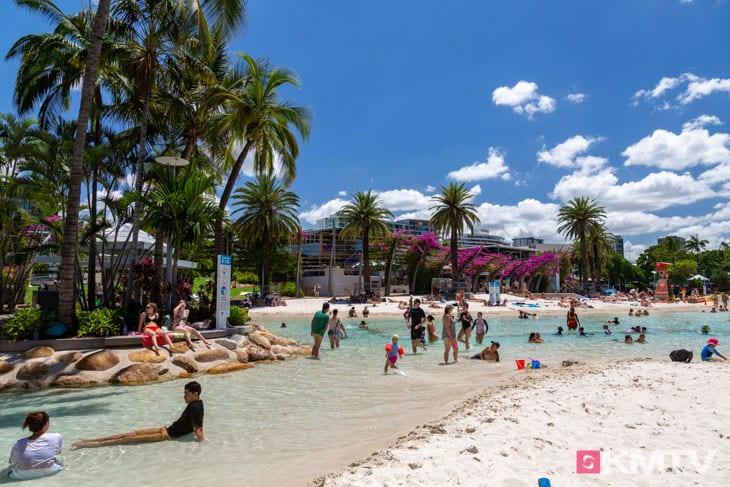 Southbank - Brisbane Kitereisen & Kitesurfen