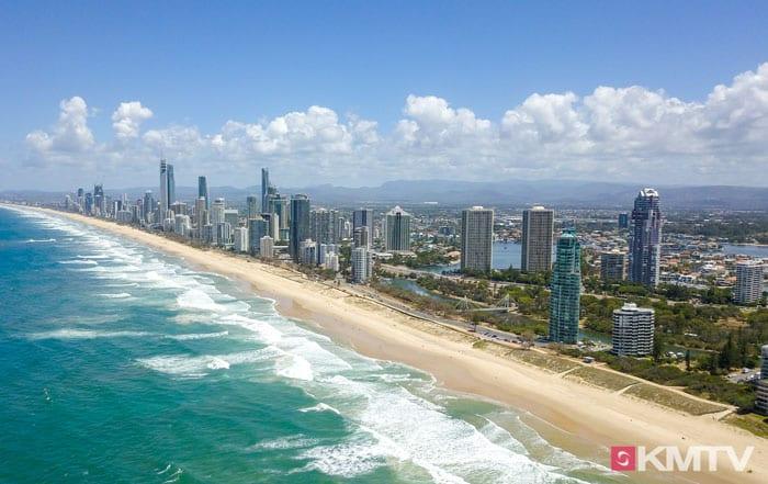 Surfers Paradise Kitesurfen - Kitereisen an die Gold Coast Australiens