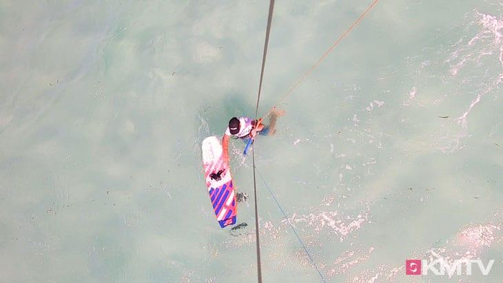 Textilwende - Foilen lernen beim Kiten