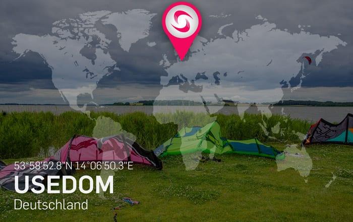 Usedom Kitespots – Beste Reisezeit zum Kitesurfen an der Nordsee