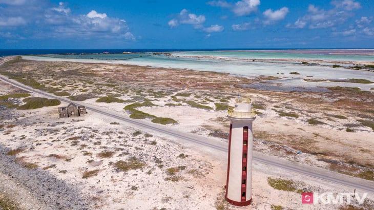 Leuchtturm - Bonaire Kitereisen & Kitesurfen