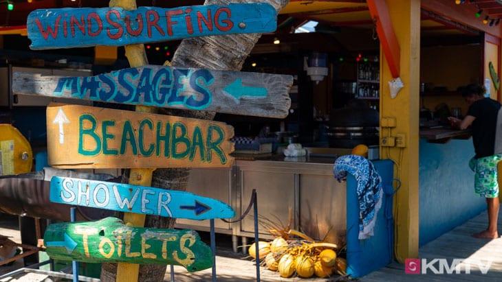 Beachbar - Bonaire Kitereisen & Kitesurfen