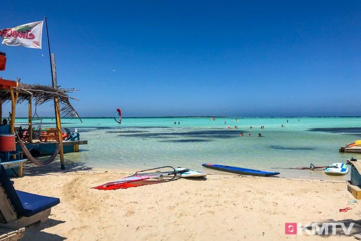 Windsurfer Lagune Sorobon - Bonaire Kitereisen & Kitesurfen