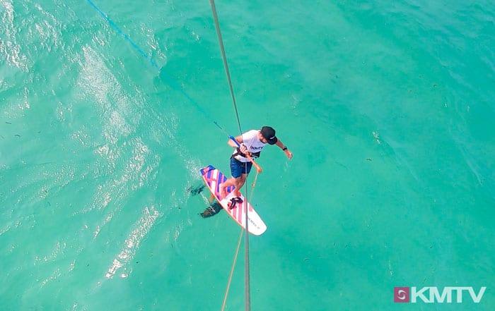 Fußwechsel - Foilen lernen beim Kiten