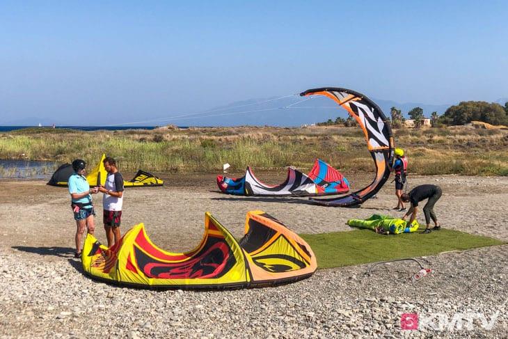 Kitespot Psalidi - Kos Kitereisen und Kitesurfen