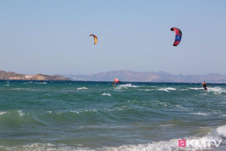Kitespot Tigaki - Kos Kitereisen und Kitesurfen