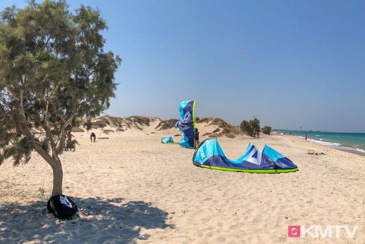 Kitespot Marmari - Kos Kitereisen und Kitesurfen