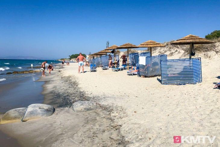 Tam Tam Beach - Kos Kitereisen und Kitesurfen