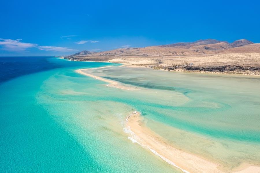 Fuerteventura Kitereisen - Beliebte Kitesurf Areas