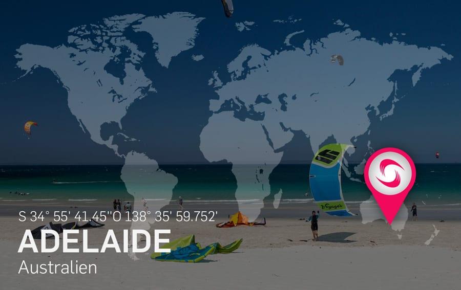 Adelaide Kitespot Area - Kitesurfen und Kitereisen