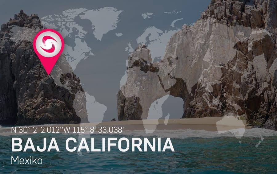 Baja California Kitespot Area - Kitesurfen und Kitereisen
